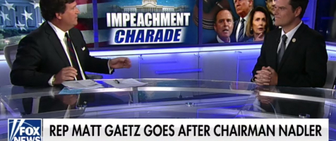 Gaetz on Tucker: It Was Bring Your Donor to Work Day