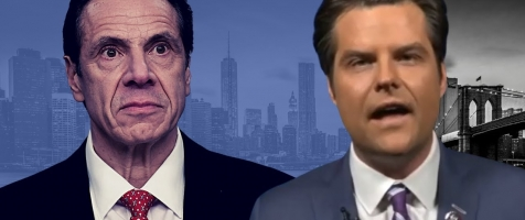 "Gaetz RIPS Cuomo's COVID Cover-Up: ""He Has Blood on His Hands"""