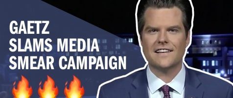 Gaetz SLAMS False Accusations and Media Smear Campaign on Newsmax