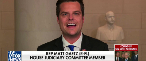 Gaetz on Hannity: The Only Bipartisan Vote is Against Impeachment