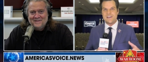Matt Gaetz and Steve Bannon on the America First Movement and Election Integrity