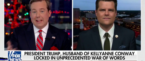 Gaetz Talks George Conway, President Trump, and Abortion on The Story