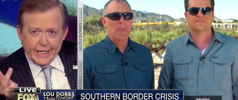 Gaetz and Biggs Join Lou Dobbs From The Border