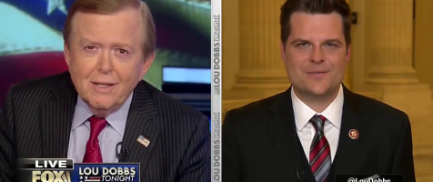 "Gaetz: ""Dems in Denial Over Mueller Report"""