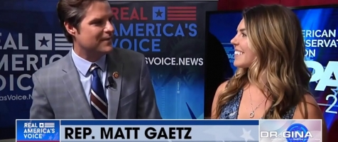 WATCH: Rep. Gaetz and his Fiancé Ginger Luckey Give Exclusive Interview with Dr. Gina!