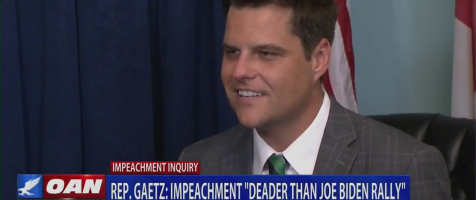 Gaetz Talks Impeachment with OANN