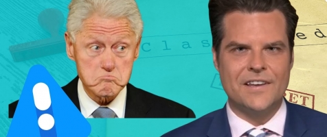 """Gaetz: """"I Bet Bill Clinton Wishes He'd Thought of the Excuse Eric Swalwell Gave!"""""""