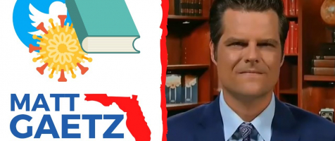 "Gaetz Slams Never Trumpers, Talks Big Tech and More on ""The Next Revolution"""