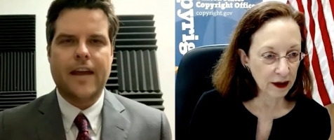 Rep. Matt Gaetz Discusses the Role and Origin of Foreign Entities Violating U.S. Copyright Laws