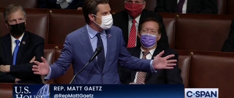 Gaetz Demands Election Integrity, Objects to FRAUD on the House Floor