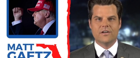 "Gaetz: ""Trump Won In a LANDSLIDE Among In-Person Voters!"""