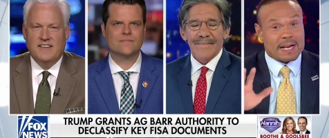 Gaetz Appears on The Sean Hannity Show to Discuss the Declassification of Key FISA Documents