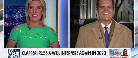 Gaetz on Ingraham: Reflexive Impeachment Will be the New Norm