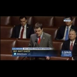 Congressman Gaetz Speaks on House Floor