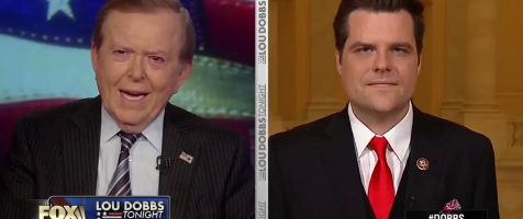 Gaetz Appears on Lou Dobbs to Talk Immigration