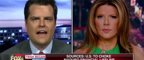 Gaetz Discusses the Ongoing Crisis in Venezuela on Trish Regan