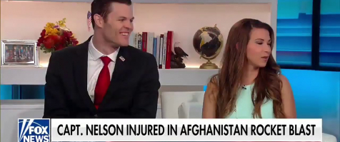 Captain Nathan Nelson and Jennifer Nelson on FOX and Friends