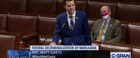 Gaetz Voices Support for the MORE Act on the House Floor