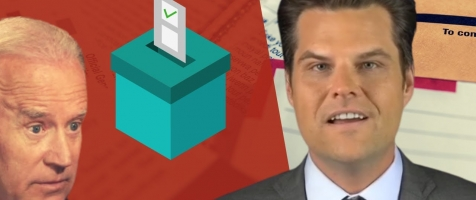 BALLOT DUMPS: Gaetz Says Biden Got Higher Percentage from Late-Night Dumps than Kim Jong-il!