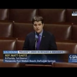 Congressman Gaetz on Refugees & Immigrants