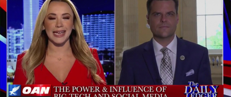 Rep. Gaetz Joins OAN with Stephanie Hamill To Discuss Big Tech
