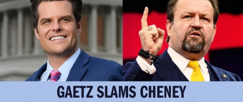 Gaetz on Gorka: Liz Cheney Should and Will Be Removed From House GOP Leadership