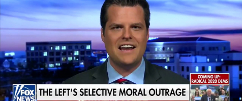Gaetz: 'Trump was triggering the media'
