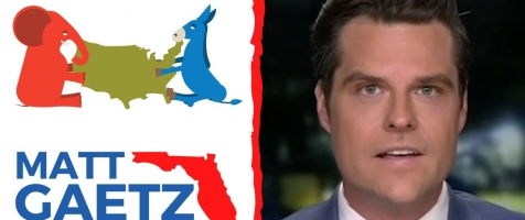 """Biden Can't Summon A Sentence!"" - Rep. Gaetz Joins Steve Hilton on Next Rev"
