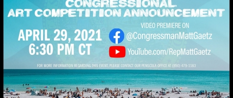 2021 Congressional Art Competition Announcement